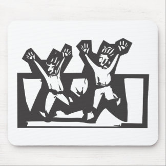 Running Scared Mouse Pad