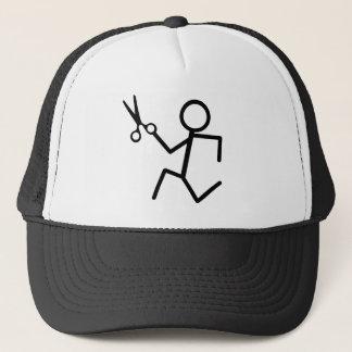 Running Scissors Trucker Hat