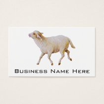 Running Sheep Business Card