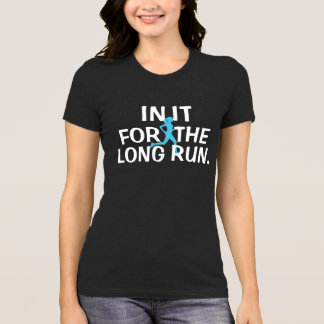 "Running shirt ""IN IT FOR THE LONG RUN"""