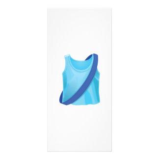 Running Shirt With Sash - Emoji Rack Card