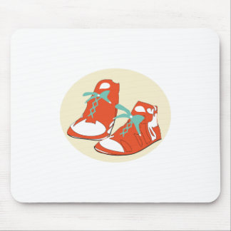 Running Shoes Mouse Pad