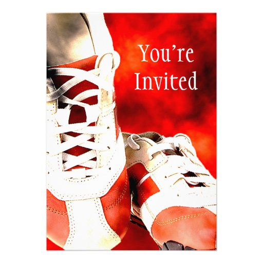 Running Shoes Runner Athlete Grunge Style Announcements