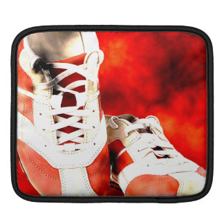 Running Shoes Runner Athlete Grunge Style Sleeve For iPads
