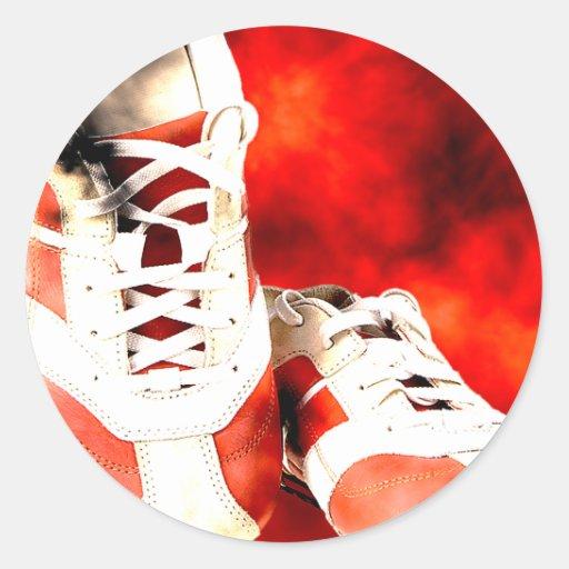 Running Shoes Runner Athlete Grunge Style Sticker