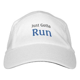 Running Slogan Just Gotta Run Headsweats Hat