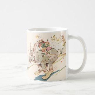 Running Snowshoe Hare Coffee Mug