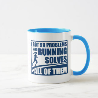Running Solves All of Them Mug