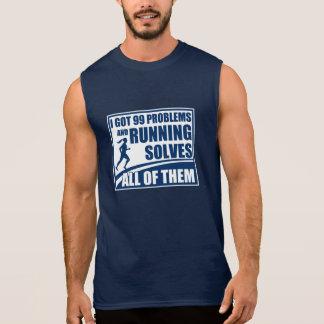 Running Solves All of Them Sleeveless Shirt