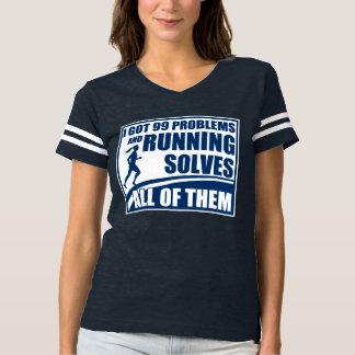 Running Solves All of Them T-shirt
