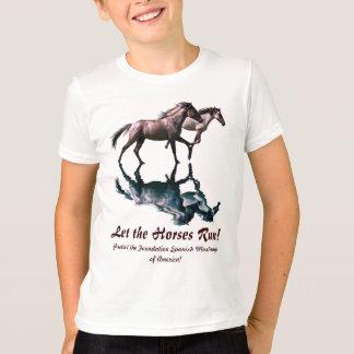 Running Spanish Mustangs Horse-Lover Shirt