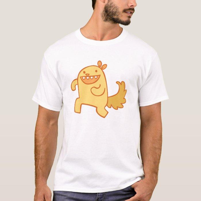 Running Squirrel - Orange T-Shirt