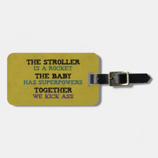 Running Stroller Luggage Tags