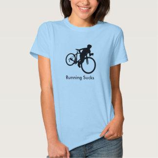 Running Sucks Cyclocross Shirt