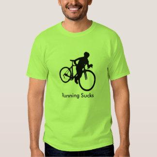 Running Sucks Cyclocross T Shirt