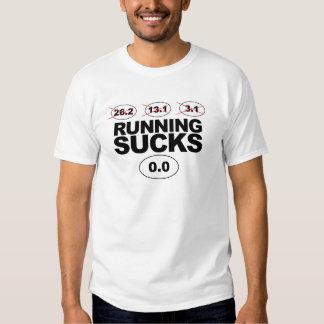 """Running Sucks"" Fitness Tee"