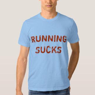 """""""Running Sucks"""" t-shirt"""