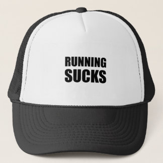 Running Sucks Trucker Hat