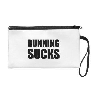 Running Sucks Wristlet Purse