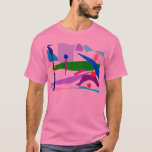 Running Sweat Drink Shoes Consciousness Road T-Shirt