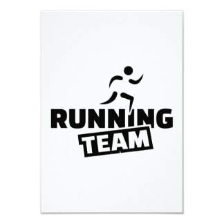 Running team custom announcement