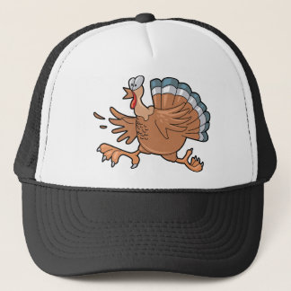 Running Thanksgiving Turkey Trucker Hat