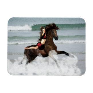 Running the Beach Flexible Magnets
