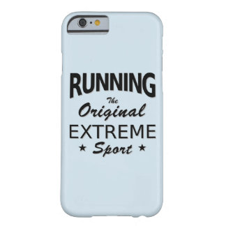 RUNNING, the original extreme sport. (blk) Barely There iPhone 6 Case