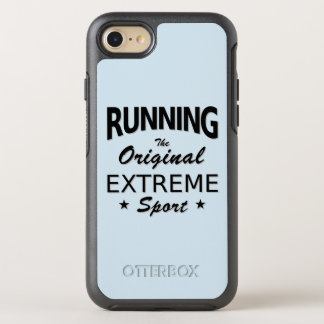 RUNNING, the original extreme sport. (blk) OtterBox Symmetry iPhone 8/7 Case