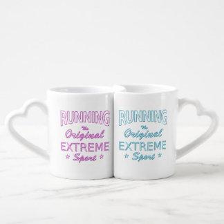 RUNNING, the original extreme sport (neon) Coffee Mug Set