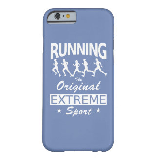 RUNNING, the original extreme sport (wht) Barely There iPhone 6 Case