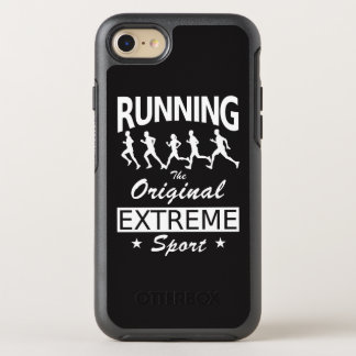 RUNNING, the original extreme sport (wht) OtterBox Symmetry iPhone 8/7 Case