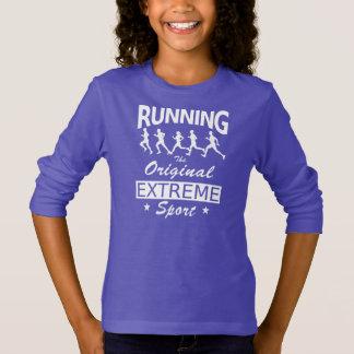 RUNNING, the original extreme sport (wht) T-Shirt