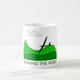 Running the Ridge ... Soaring Gliding Mug