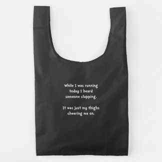 Running Thigh Cheer Reusable Bag