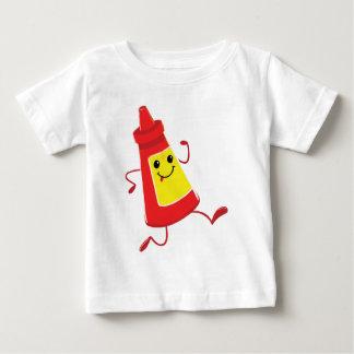 running tomato sauce baby T-Shirt