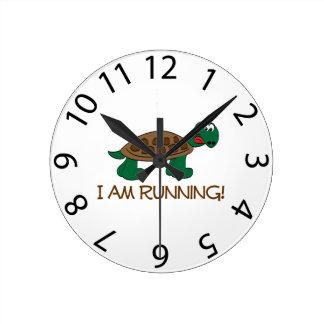 Running Tortoise Clock