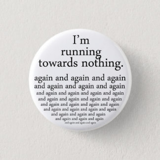 Running towards emergency-hung button