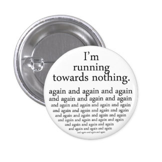 Running towards emergency-hung button