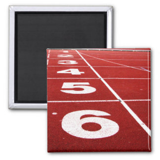 Running track 2 inch square magnet