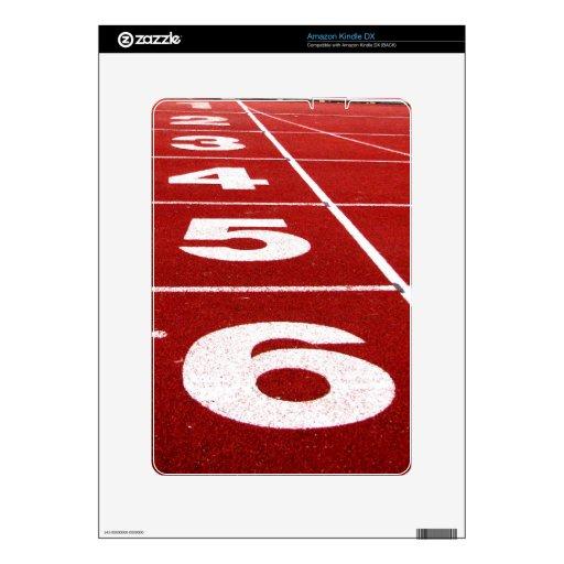 Running track Amazon Kindle DX skin