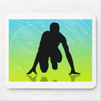 Running - Track And Field Mouse Pad