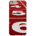 Running Track Barely There iPhone 6 Plus Case