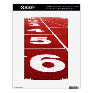 Running track Barnes & Noble NOOK skin