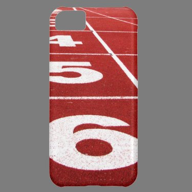 Running track case for iPhone 5C