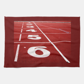 Running Track Hand Towels