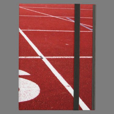 Running track iPad case