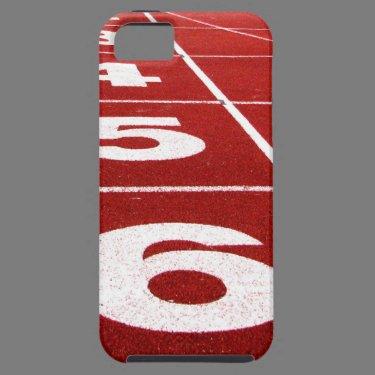 Running track iPhone 5 case