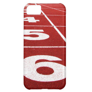Running track iPhone 5C case