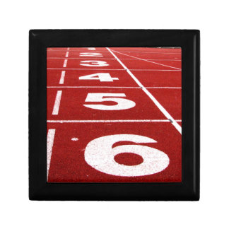 Running Track Keepsake Box